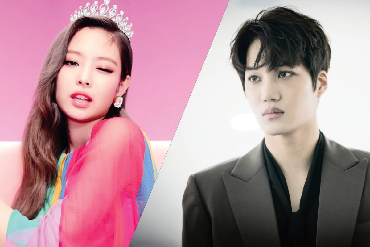 Kai, of the K-pop boy band EXO, who revealed on New Year's Day that he is dating the K-pop star Jennie, from the girl group BLACKPINK.