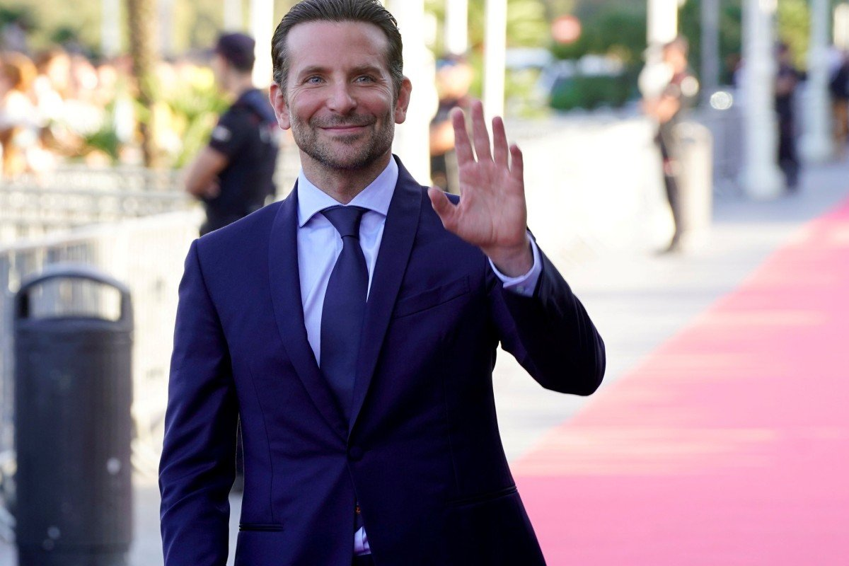American actor Bradley Cooper attends a screening in Spain of 'A Star Is Born', a film in which he co-starred with Lady Gaga and also directed. Photo: Reuters