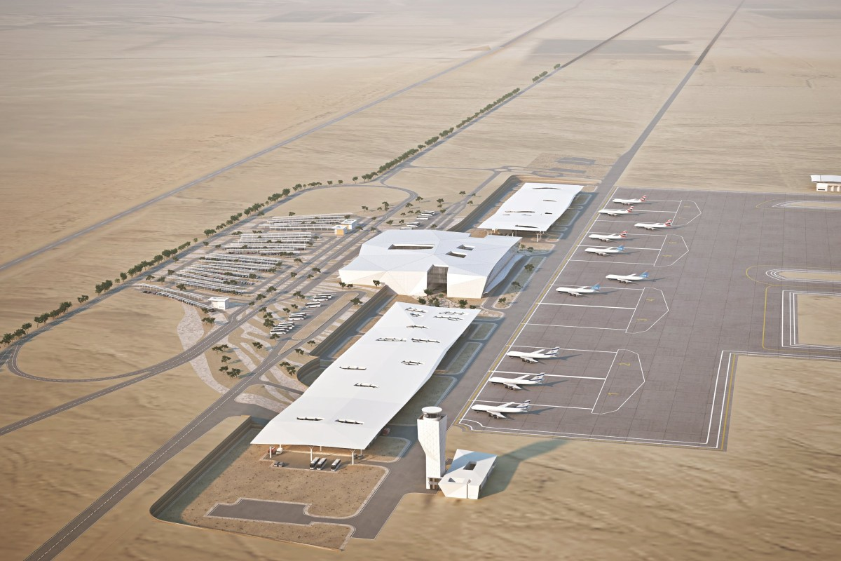 Ramon Airport, which opens on January 22, serves the southern Israeli city of Eilat, within easy access of Egypt and Jordan. Picture: Mann Shinar