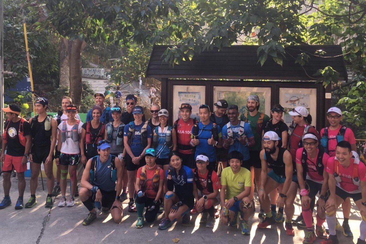 The 29 starts line up at the start of the MacLehose, but only 17 remain by day two. Photo: Mark Agnew