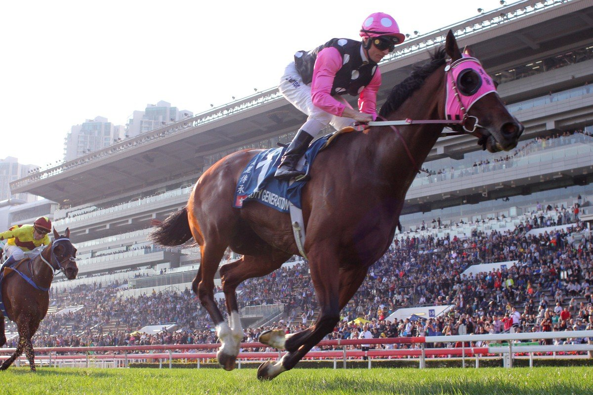 Beauty Generation is chasing a sixth Group One win in the Queen's Silver Jubilee Cup. Photos: Kenneth Chan