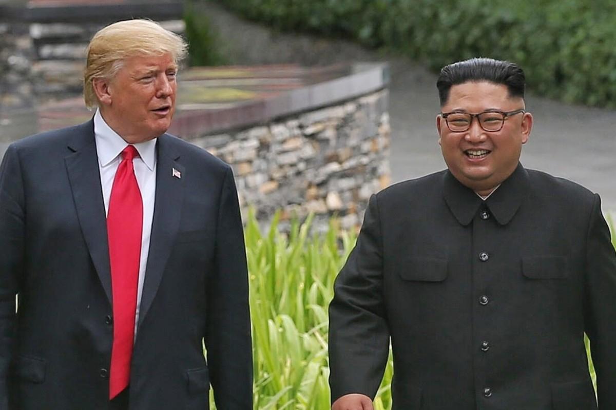 Donald Trump and Kim Jong-un are set to meet in Hanoi on February 27. Photo: EPA