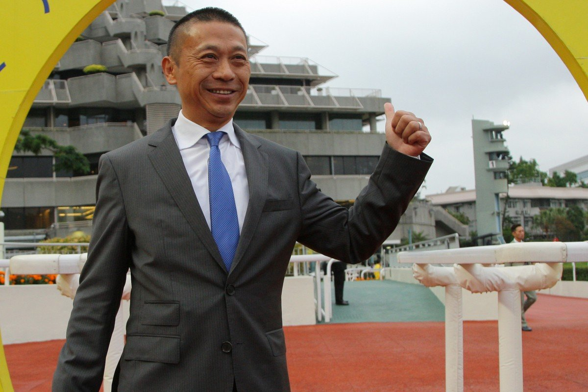 Trainer Danny Shum is hoping for an entry into the Hong Kong Derby with Charity Go. Photos: Kenneth Chan