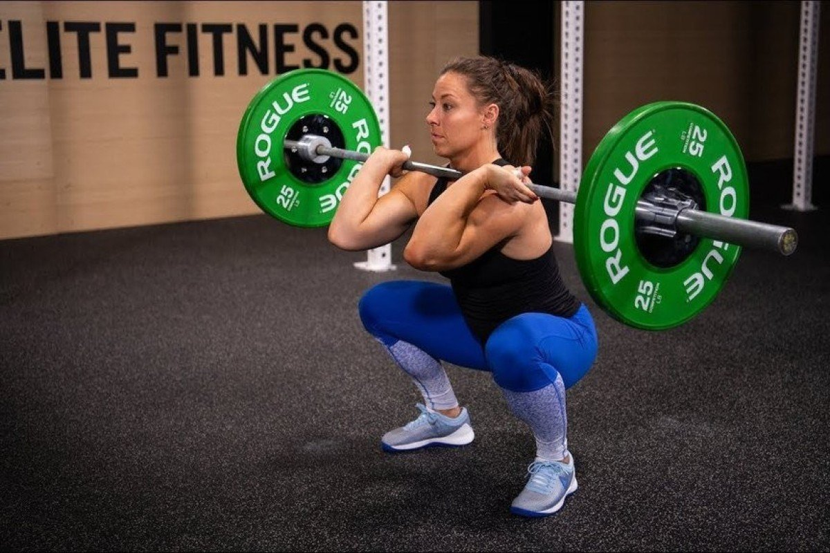Workout 19.2 features squat cleans ... a lot of them. Photo: CrossFit Games