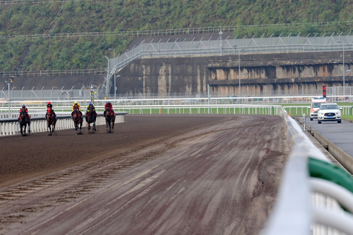 Horses trial at Conghua. Photo: Kenneth Chan