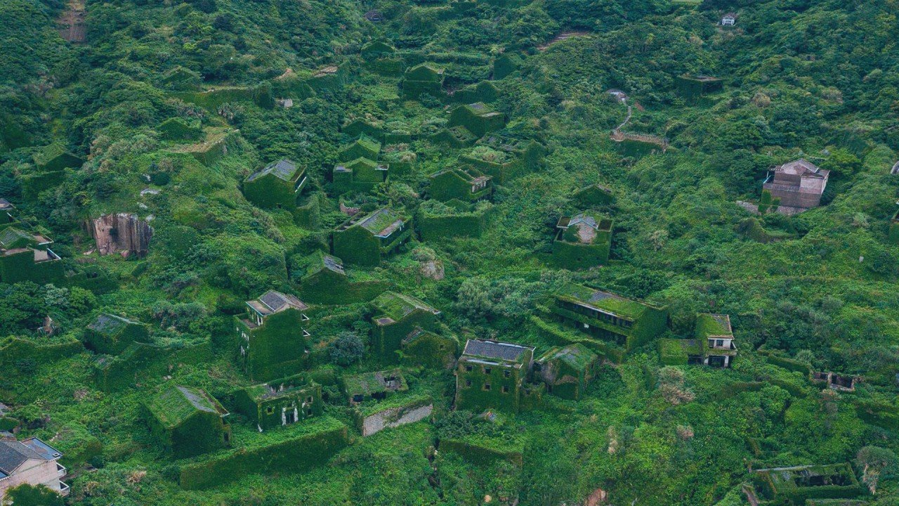 China's green ghost village