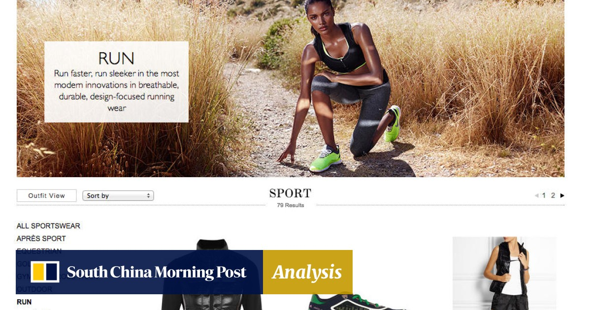 High fashion takes notes from sportswear | South China Morning Post