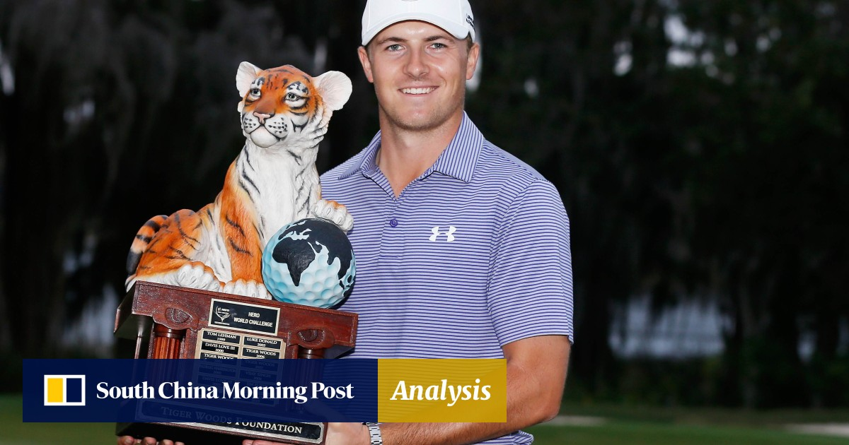 cfc3c696704 Jordan Spieth out to emulate McIlroy and Woods as he wins second event in a  row | South China Morning Post