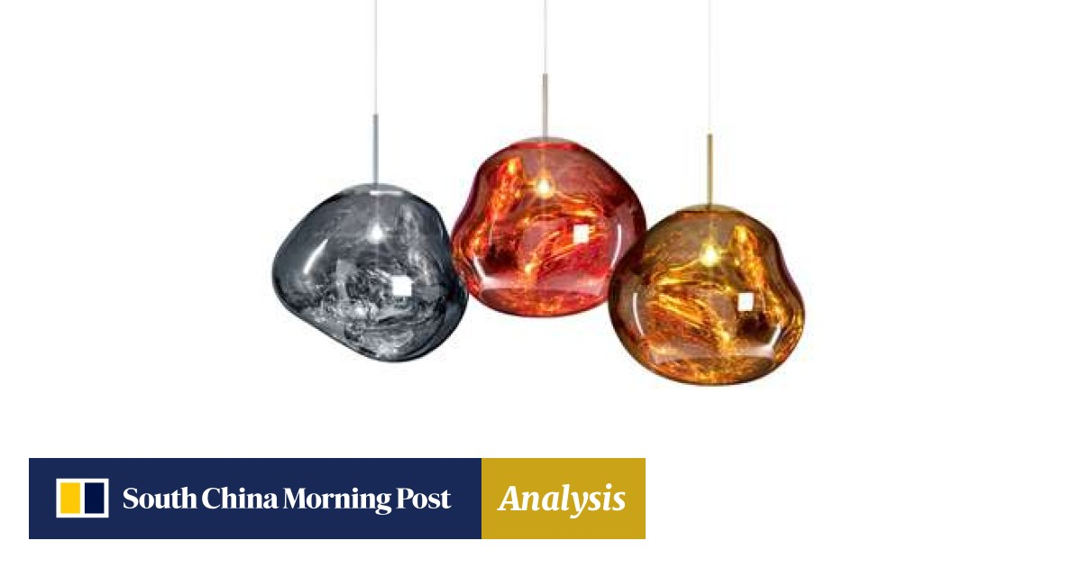 Amber Colored Chain Hanging Lamp Glass Pendant Be Shrewd In Money Matters Ceiling Lights & Fans