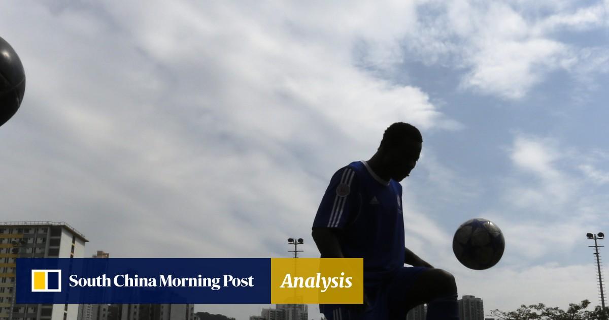 Hong Kong's all-African refugee soccer team helps players