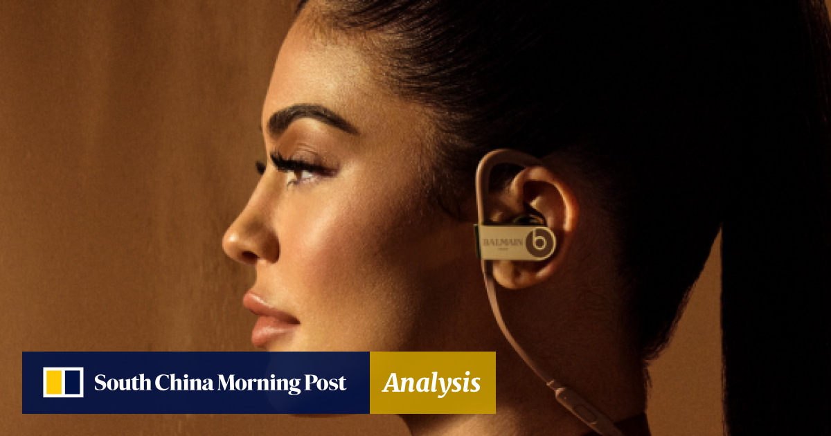 64bec7b89ed Kylie Jenner stars in Beats by Dre collaboration with Balmain | South China  Morning Post