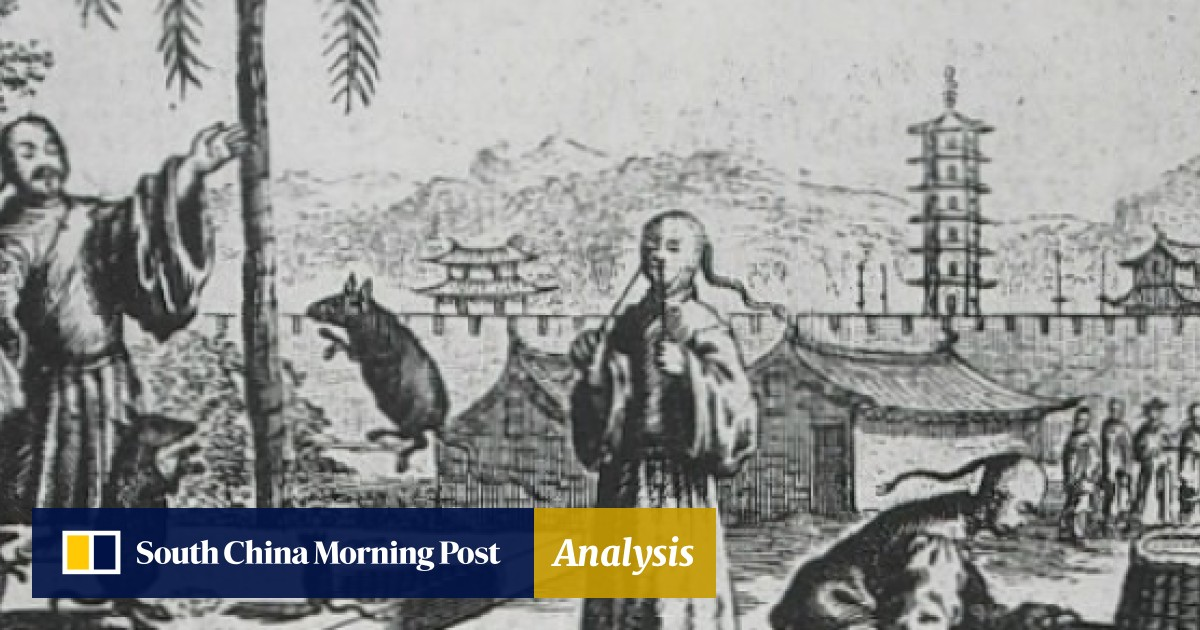 From ancient China to Mong Kok – street performance was once