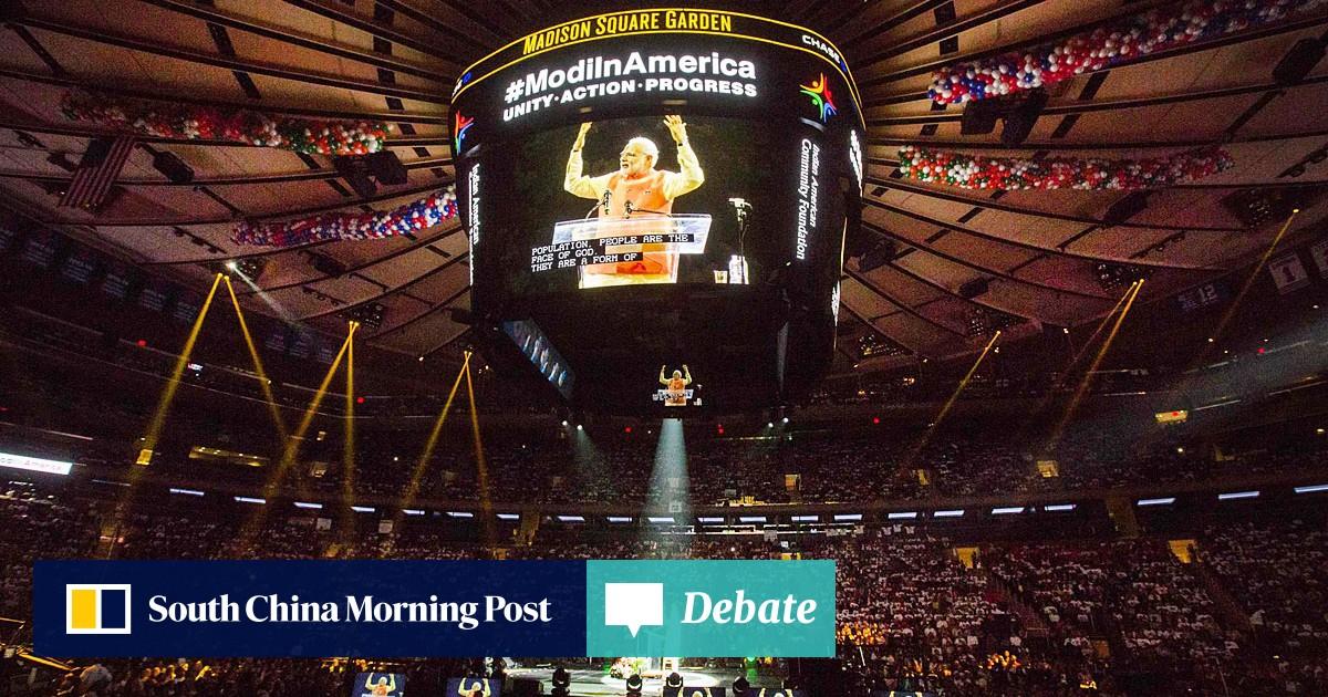 It's the Narendra Modi show at New York's Madison Square