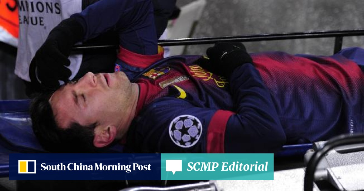 Messi suffers knee injury in Barca-Benfica draw   South China