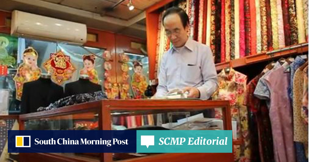e9b13741d No cutting corners: The artistry of the ancient qipao tailor | South China  Morning Post