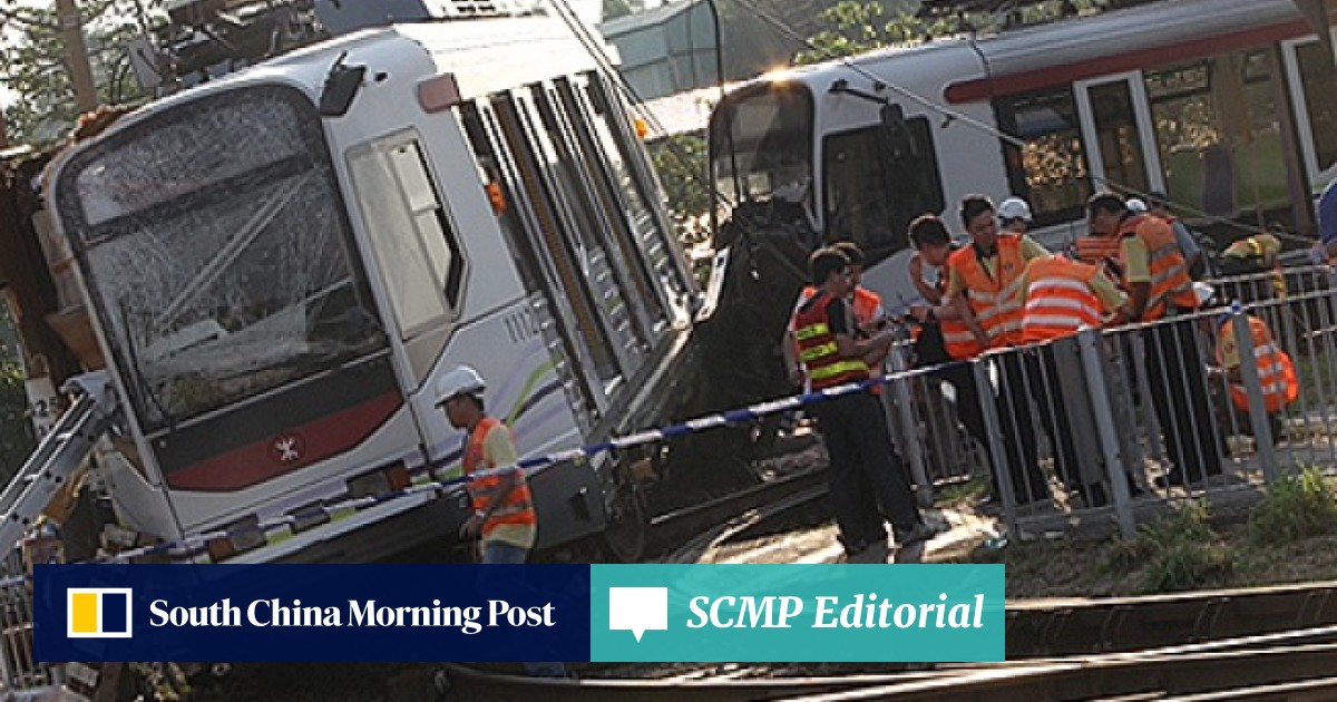 Baby among 77 injured after train derails in Tin Shui Wai | South