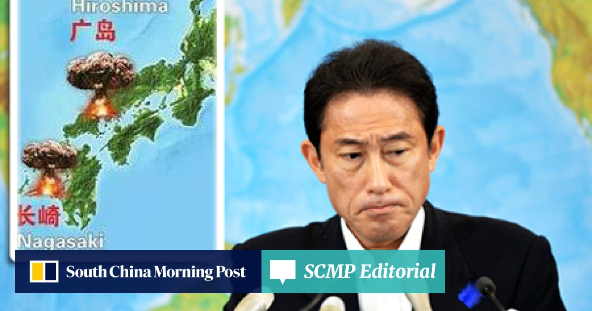Fury as Chinese paper publishes Japan map with mushroom clouds over