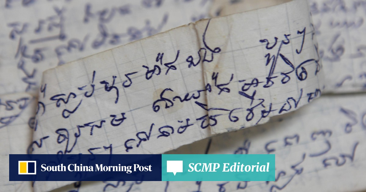 Cambodian diary a rare glimpse of life under the Khmer Rouge