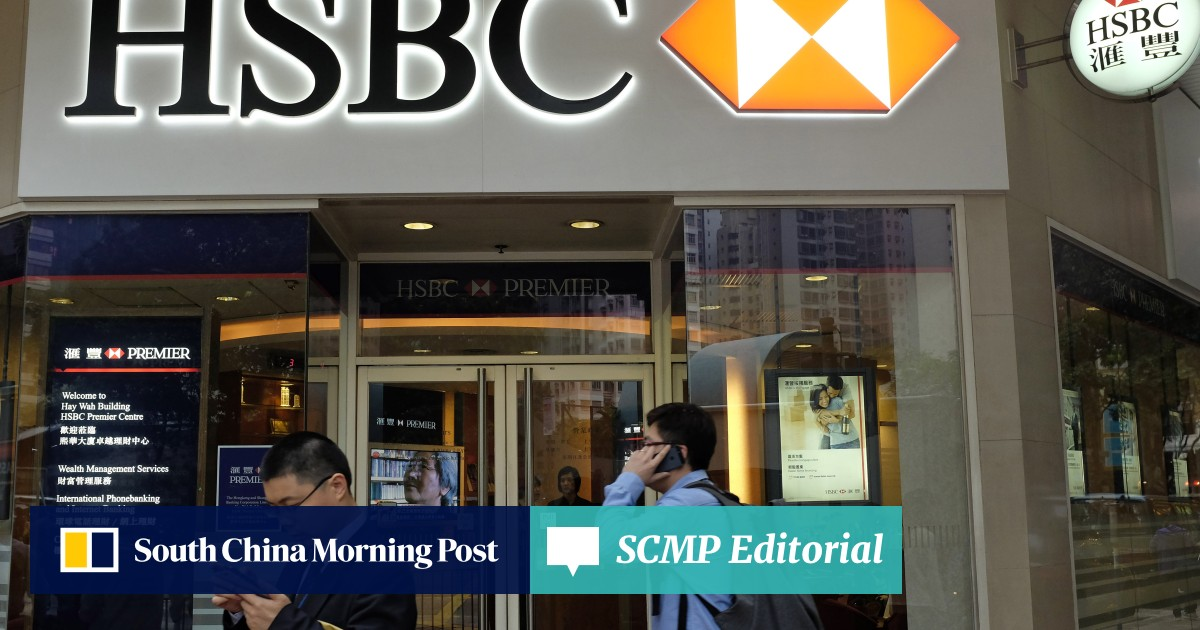 Hong Kong HSBC relatively unscathed as bank struggles with