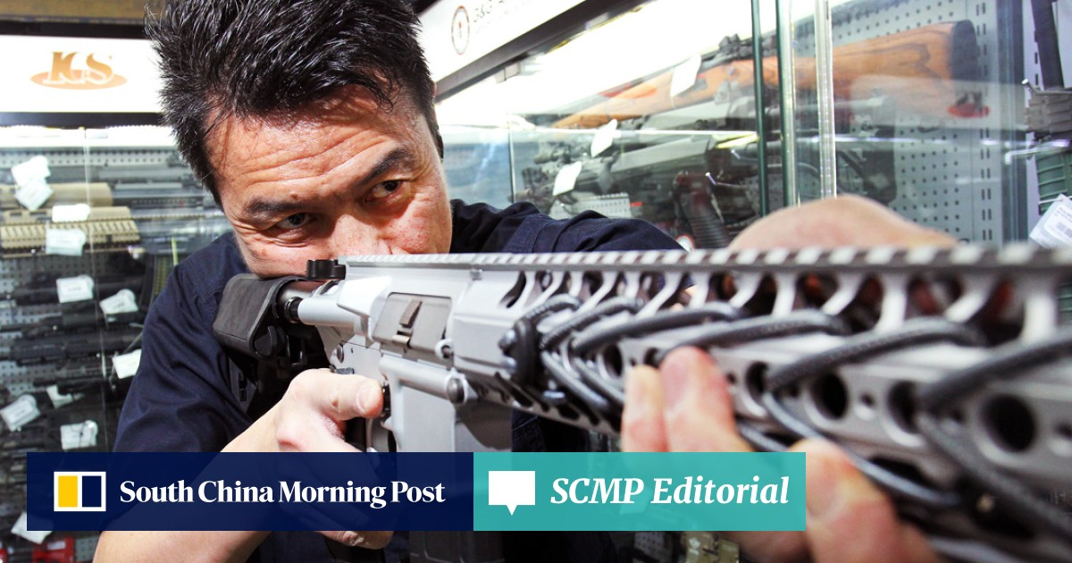 Top guns: Hong Kong's thriving business in replica weapons