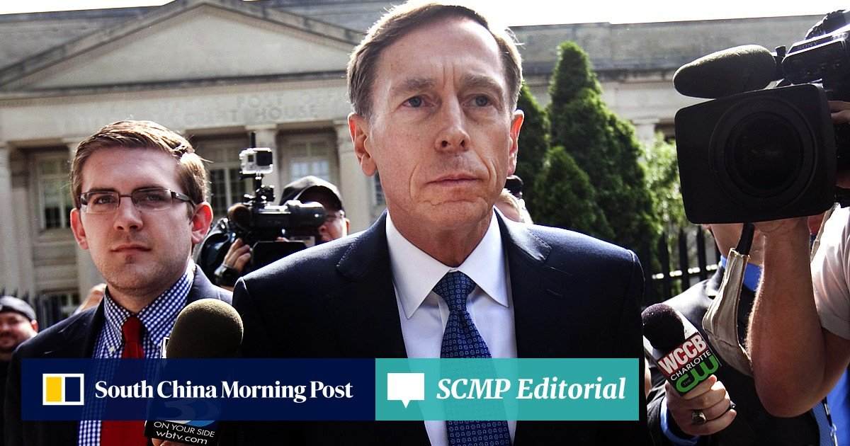 Former CIA boss David Petraeus fined and placed on probation