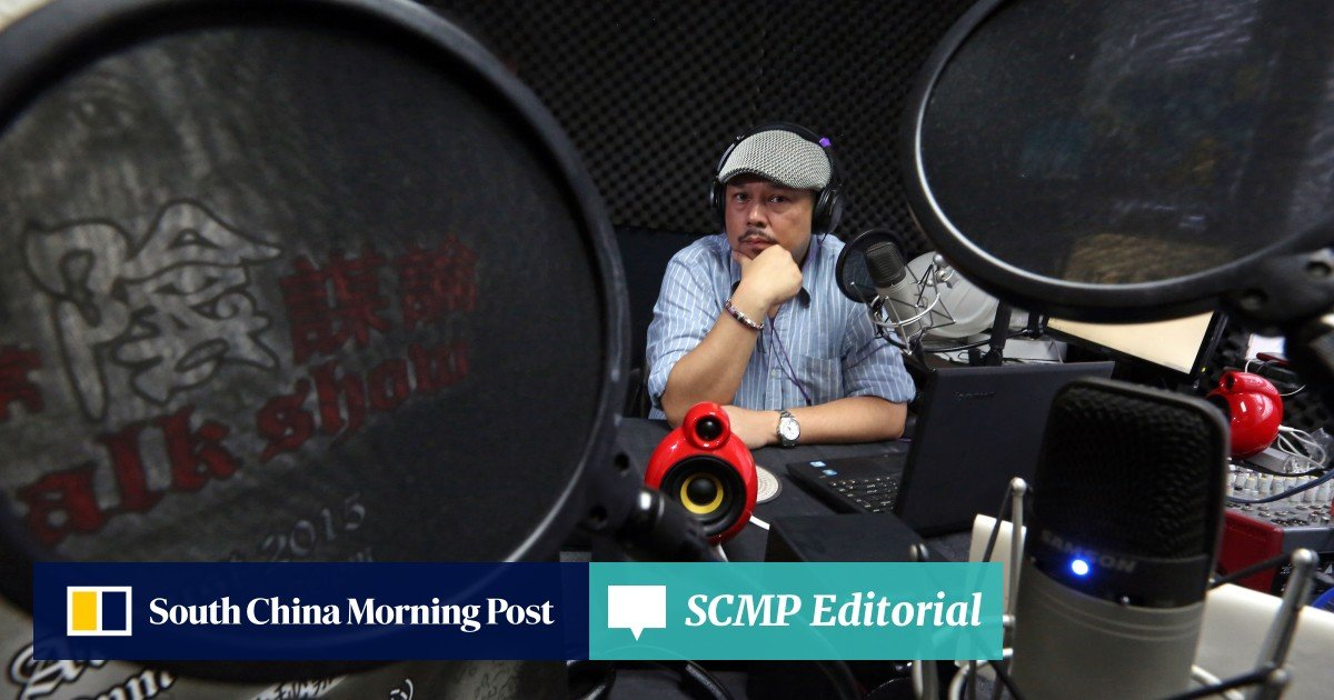Hong Kong radio host launched online station to share his