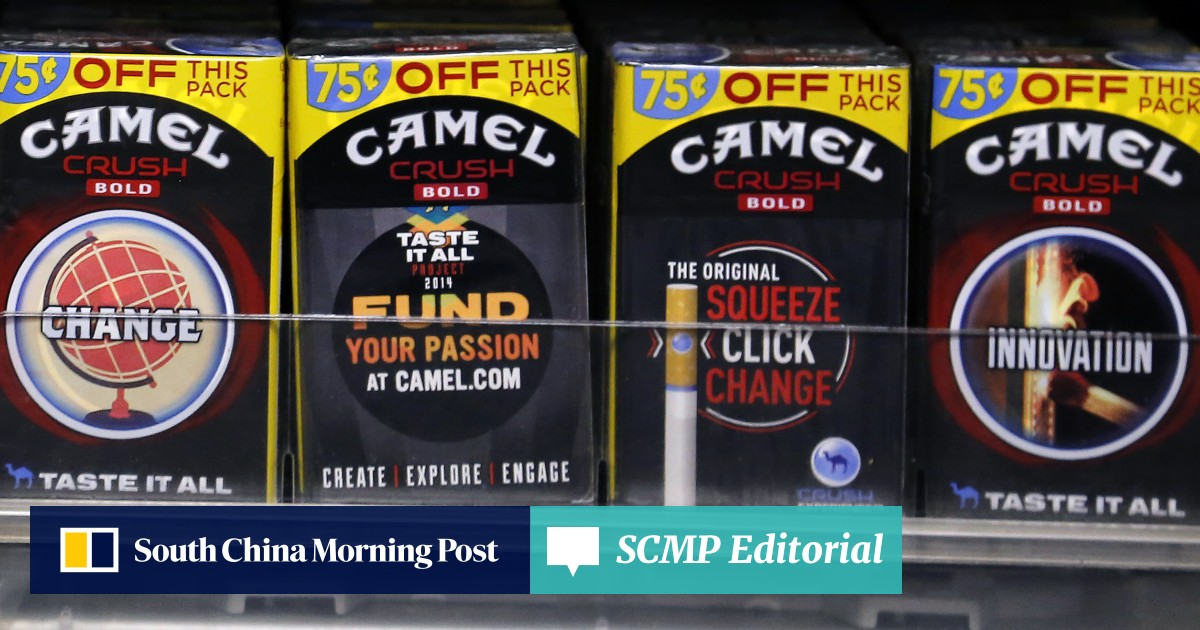 Stubbed out: 'Camel Crush' cigarettes among four brands