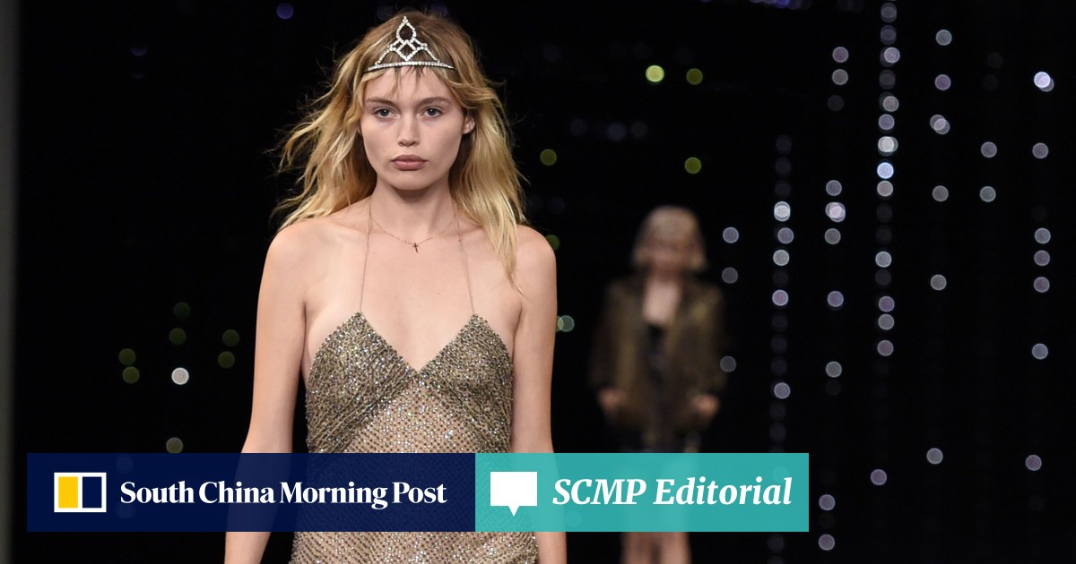 eedde8e895b Saint Laurent issues rebel yell, but Valentino casts a regal spell   South  China Morning Post