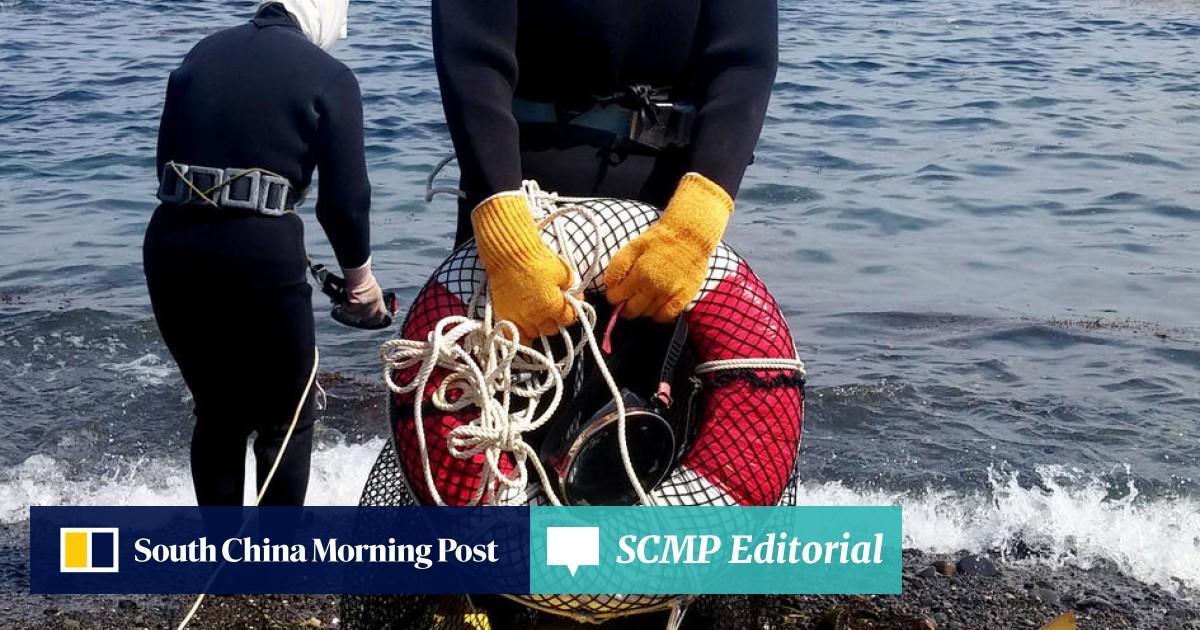 Freediving fisherwomen of Toba, Japan, preserve an ancient