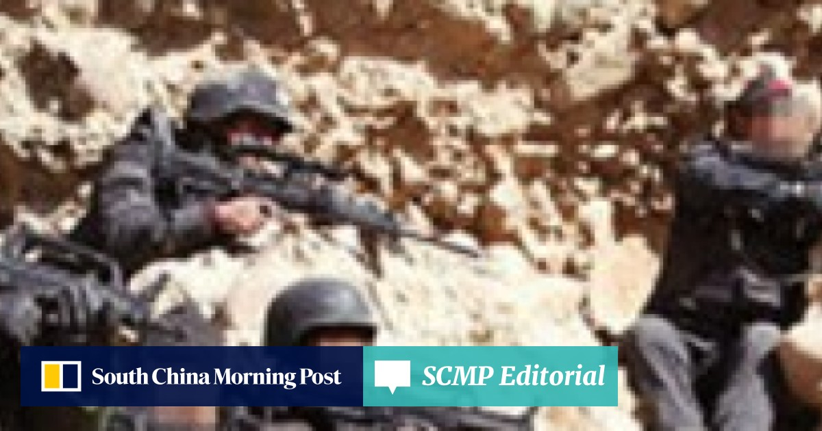 Flamethrower used to flush out militants in China's Xinjiang region