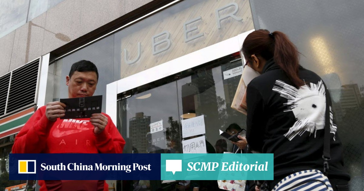 The flag falls: Seven Uber drivers in Hong Kong face driving
