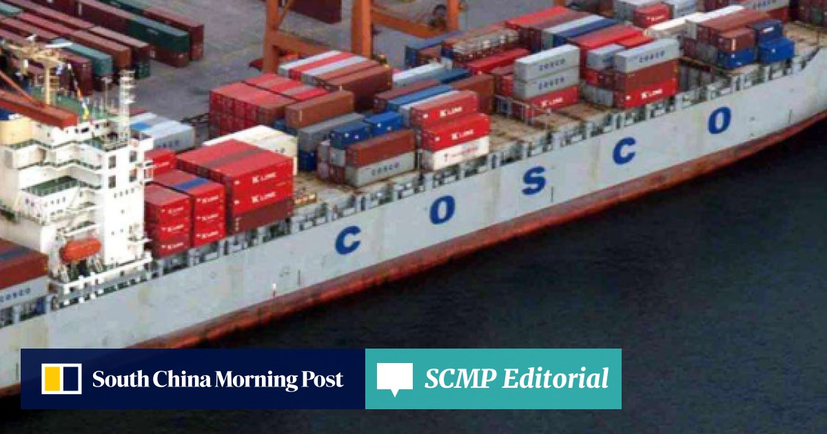 China Cosco Shipping unit forms alliance with three container giants