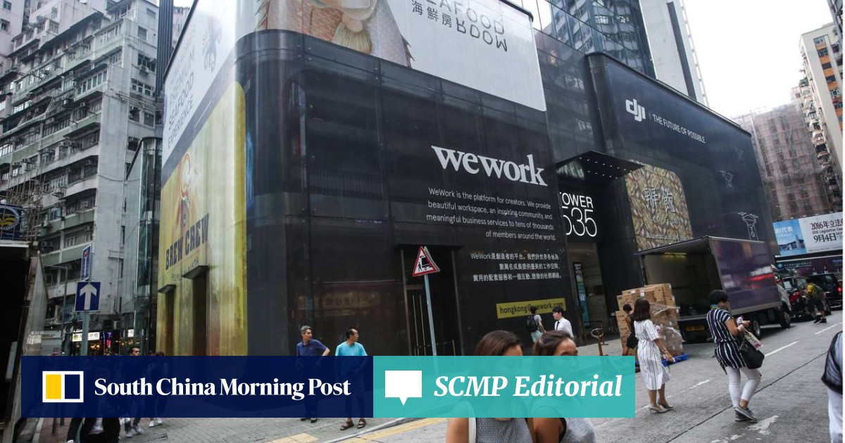 US co-working office provider WeWork to open in Hong Kong's