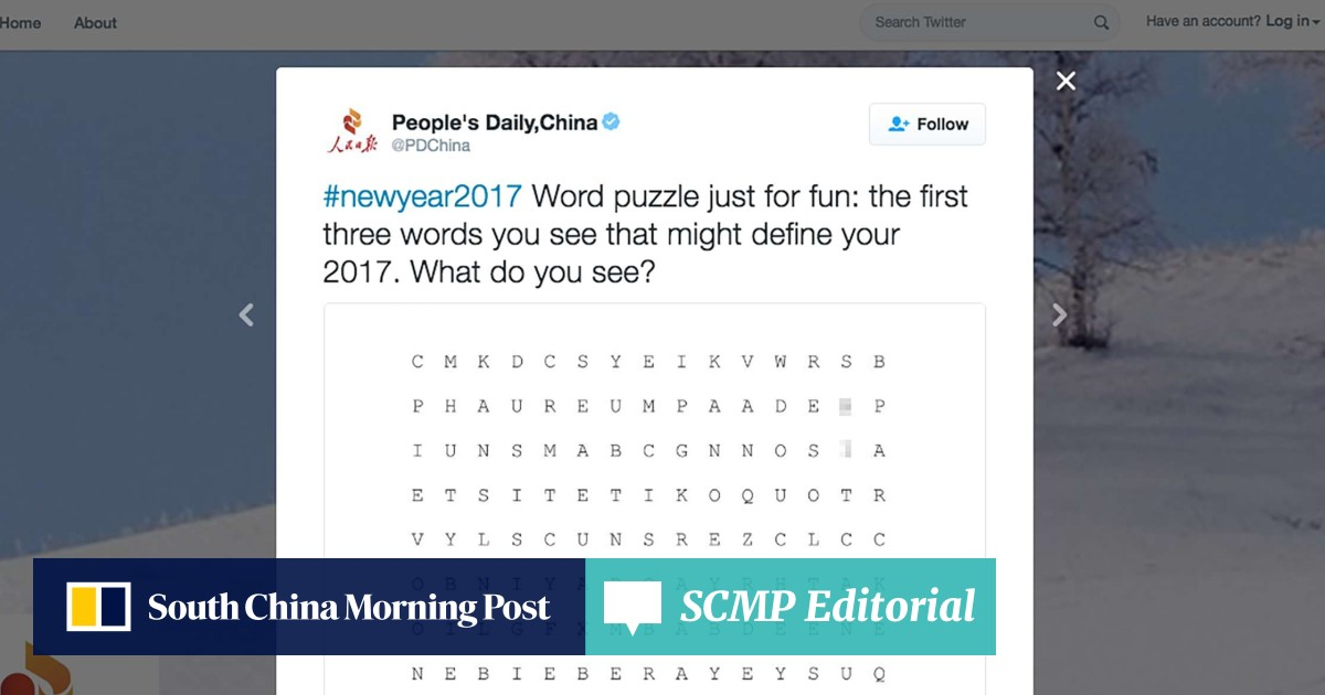 People's Daily runs foul of readers with obscene online word puzzle