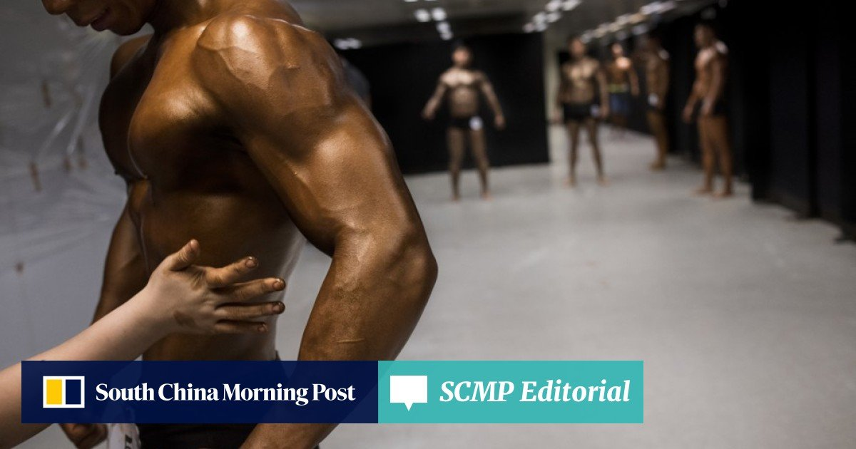 In pictures: the Hong Kong Bodybuilding Championships