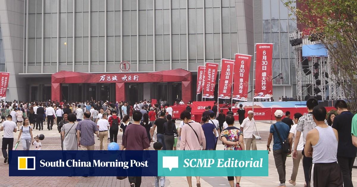 China's shopping mall operators warned of looming 'lost