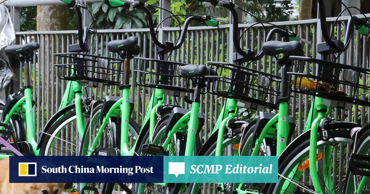 Government has role to play as bike-sharing trend takes off