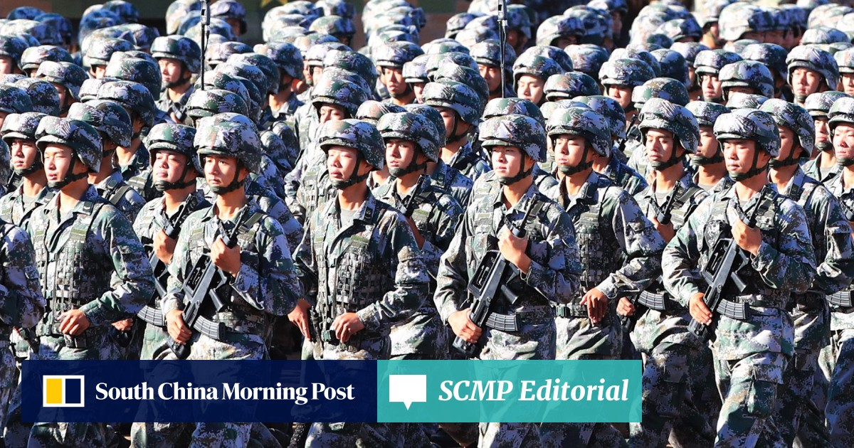 China's armed forces told to be loyal to party at show of military