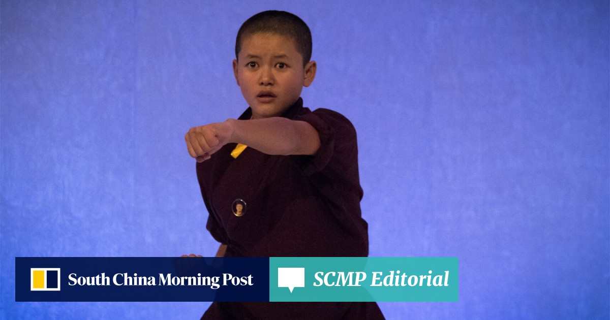 In London, Buddhist kung fu nuns show how they are teaching