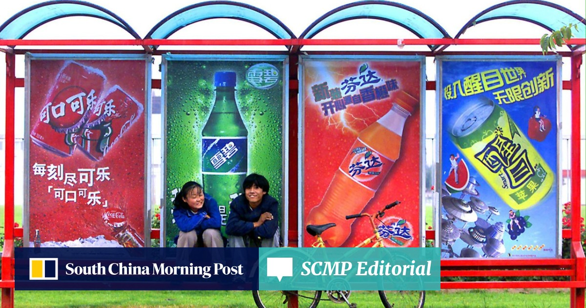 It's fewer sugary sodas, as health conscious Chinese consumers opt