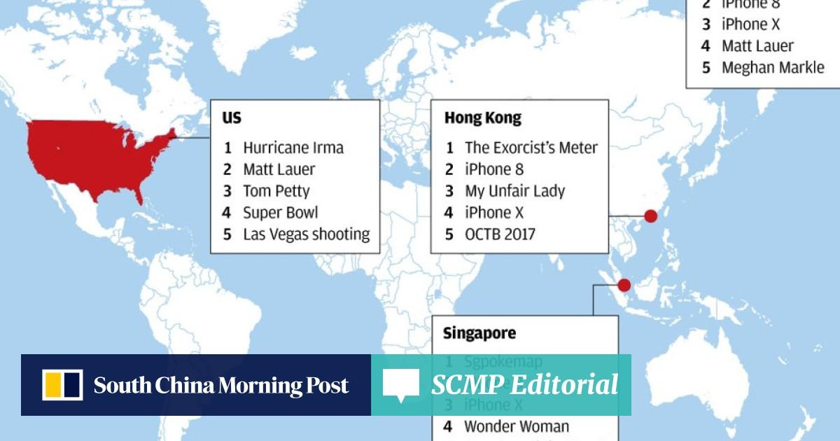 Hongkongers spent the year Googling TV dramas while