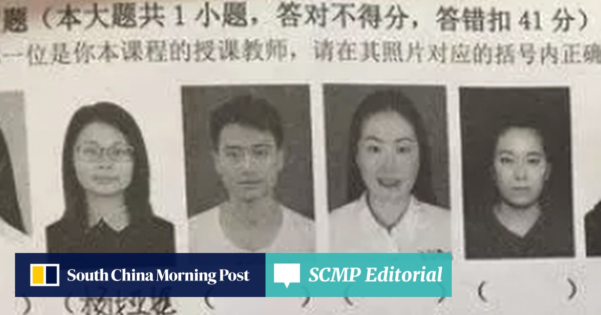 Chinese students risk exam failure for not recognising their