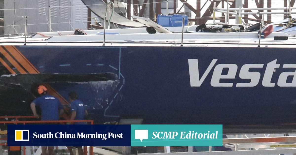 Man dies after Volvo Ocean Race yacht hits mainland Chinese