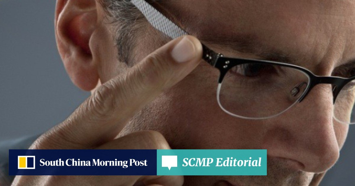 961b066162c Smart glasses allow users to switch focus with touch of the finger | South  China Morning Post