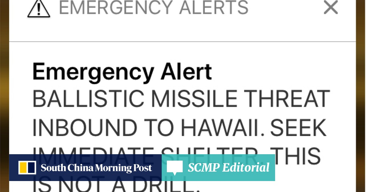 Hawaii's false missile alert was sent by worker who actually