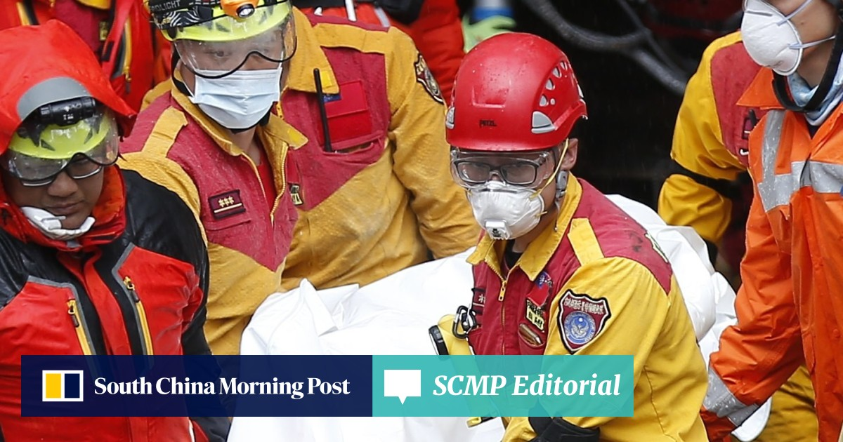 Taipei rejects Beijing's offer of help with earthquake