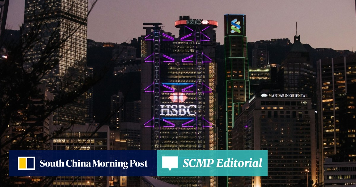 HSBC expected to post 1 5 per cent rise in full year profit on