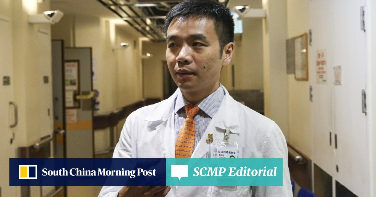 No contract renewal for Hong Kong doctor who left liver