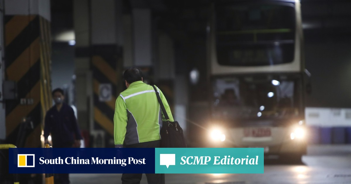 Shorter hours on the road for 13,000 Hong Kong bus drivers after Tai