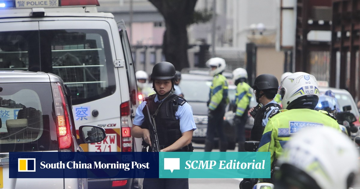 Hong Kong's reputation as a safe city relies on intelligence